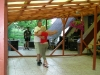Tanec a posedenie pri živej hudbe